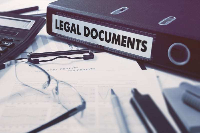 Structural and construction damages - legal documents